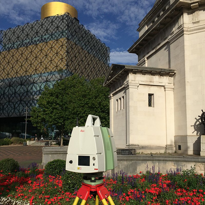 3d scanning birmingham library