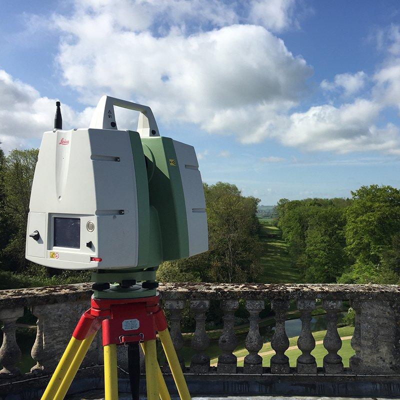 3d scanning roof